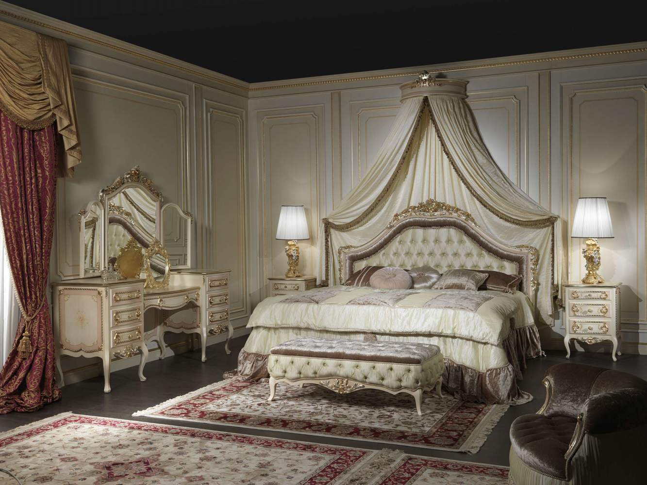Classic Style Bedroom Louvre