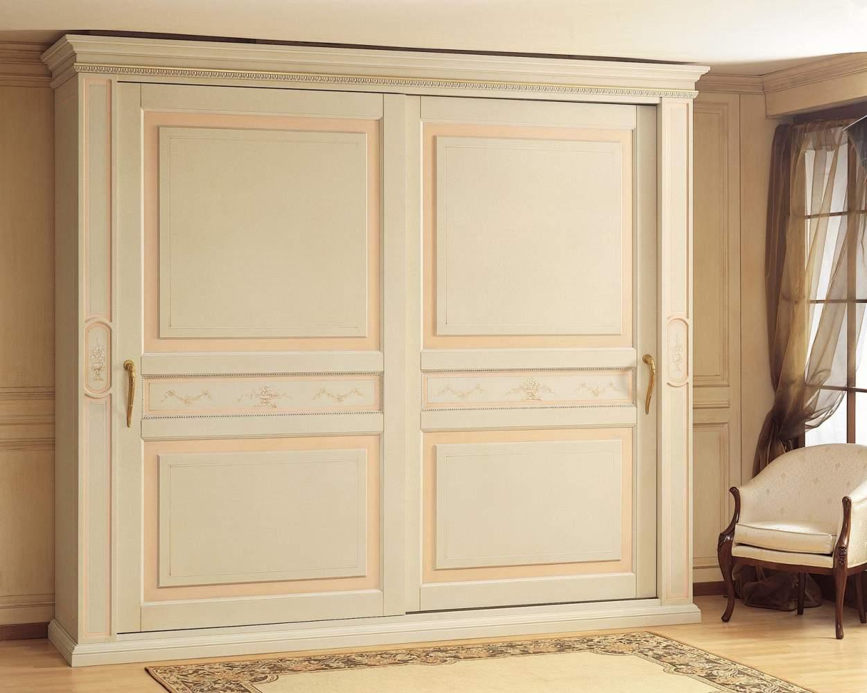 Armoire classique canova avec portes coulissantes - Armoire avec portes coulissantes ...