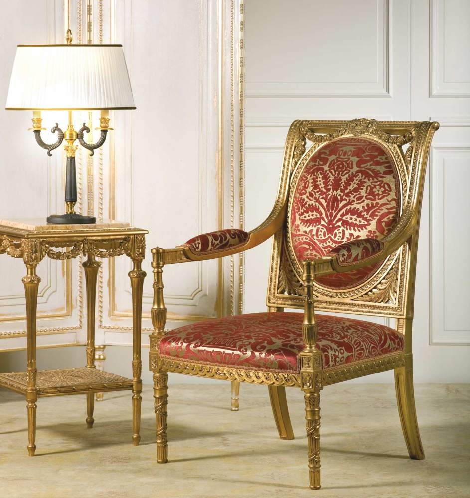 Classic Armchair Versailles Vimercati Classic Furniture